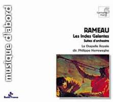 WYCOFANY  Rameau, Jean-Philippe - Les Indes galantes - suites