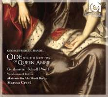 Handel: Ode for the Birbanty of Queen Anne, Dixit Dominus