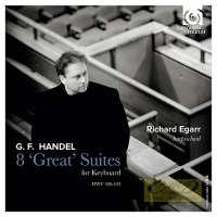 HANDEL: Suites pour clavecin  Nr.1-8 (HWV 426-433)
