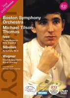Michael Tilson Thomas conducts Ives, Sibelius & Wagner