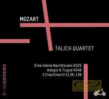 WYCOFANY   Mozart: Eine kleine Nachtmusik; Adagio and Fugue; 3 Divertimenti, reedycja