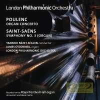 "Poulenc: Organ Concerto; Saint-Saëns: Symphony No 3 ""Organ"""