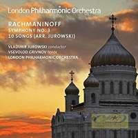 Rachmaninov: Symphony No. 3,  10 Songs