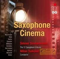 Saxophone Cinema – Morricone, Rota, Zimmer, Mancini, Eisler