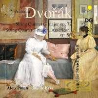 "Dvorak: String Quintet op. 77; String Quartet op. 96 ""American"""