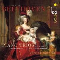 """Beethoven: Piano Trios op. 70; Variations on """"Ich bin der Schneider Kakadu"""""""