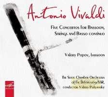 Vivaldi: Five concertos for Bassoon