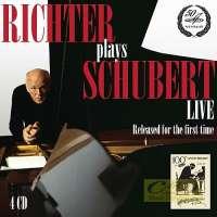 Richter plays Schubert - Piano Sonatas, Live, 1978