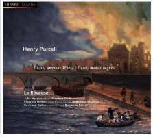 WYCOFANY Purcell: Cease, Anxious World  -  songs & chamber music