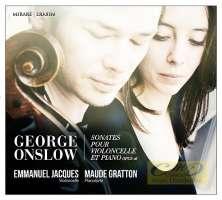 Onslow: Sonates pour violoncelle et piano