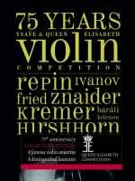 75 Years of Ysaye & Queen Elisabeth Violin Competition