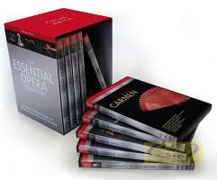 Essential Opera Collection - box 10 DVD - Bizet: Carmen, Wagner: The Valkyrie, Mozart: Don Giovanni, Verdi: Il Trovatore,Mozart: Le nozze di Figaro, Offenbach: Les contes d'Hoffman, Monteverdi: L'Orfeo, Verdi: Rigoletto, Puccini: Tosca