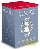 Mozart: Great Operas Box Set ( Idomeneo, Die Entführung aus dem Serail, Le nozze di Figaro, Don Giovanni, Così fan tutte, La clemenza di Tito, Die Zauberflöte )