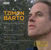 Liszt/ Brahms /Lutosławski: Paganini Variations / Rachmaninov: Paganini Rhapsody