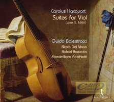 Hacquart: Suites for Viol (opus 3, 1686)