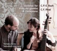 C.P.E. Bach & Carl Friedrich Abel: Sonatas for viola da gamba