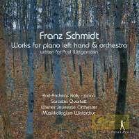 Schmidt: Works for piano left hand & orchestra