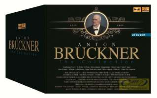 Bruckner: Symphonies 0 - 9, Works for Piano, String Quartet, String Quintet, Masses, Organ Works, Motets, Missa solemnis, Psalms, Requiem