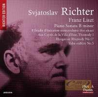 Liszt: Piano Sonata in B minor, Etudes d'exécution transcendante, Rhapsodie n° 17, ...