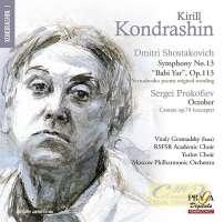 Shostakovich: Symphony No. 13; Prokofiev: October, Cantata