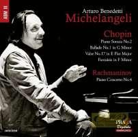 Chopin: Piano Sonata No. 2; Rachmaninov: Piano Concerto No. 4