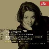Cechova - Live at the Rudolfinum - Brahms, Liszt
