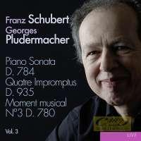 Schubert: Piano Sonatas Vol. 3 - D.784 Impromptus D.935 Moment musical D.780/1