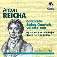 Reicha: Complete String Quartets Vol. 2