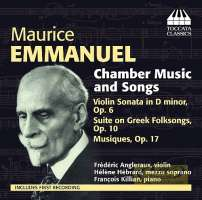 Emmanuel: Chamber Music and Songs