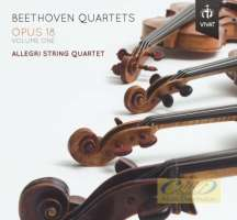Beethoven: Quartets op. 18 vol. 1, nos. 3, 4 & 5