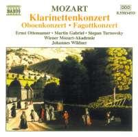Mozart: Bassoon Concerto, Oboe Concerto, Clarinet Concerto