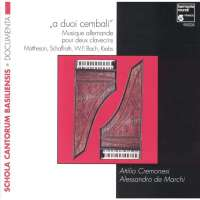 A Duoi Cembali - German Music for two harpsichords