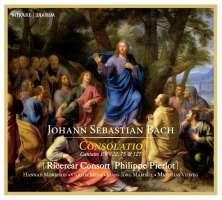 Bach: Consolatio - Cantatas BWV 22; 75; 127
