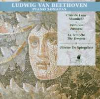 Beethoven: Klaviersonaten Nr.14,15,17 (Mondscheinsonate, Pastorale, Der Sturm)