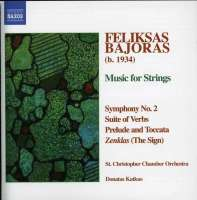 BAJORAS: Symphony No. 2; Suite of Verbs; Prelude and Toccata; The Sign