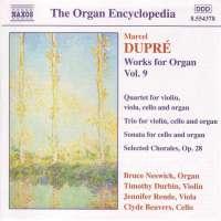 DUPRE:  Works for organ vol.9
