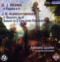 Authentic Quartet play Albrechtsberger & Werner