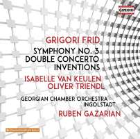 Frid: Symphony No. 3; Double Concerto; Inventions