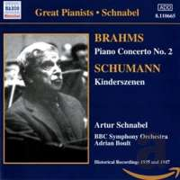 BRAHMS: Piano Concerto No. 2 / SCHUMANN: Kinderszenen