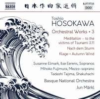 Hosokawa: Orchestral Works Vol. 3