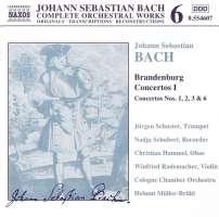 BACH: Brandenburg Concertos I