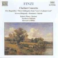 FINZI: Clarinet Concertos