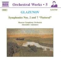 GLAZUNOV: Symphonies nos. 2 & 7