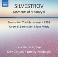 Silvestrov: Moments of Memory II