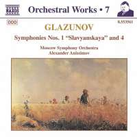 GLAZUNOV: Symphonies 1 & 4