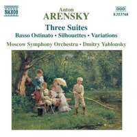 ARENSKY: Three Orchestral Suites