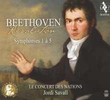 Beethoven: Symphonies 1 - 5