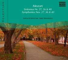 MOZART: Symphonies nos 27 & 36