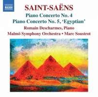 Saint-Saens: Piano Concertos Nos. 4 & 5