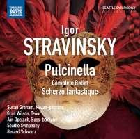 STRAVINSKY: Pulcinella; Scherzo fantastique